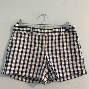 LOFT gingham shorts